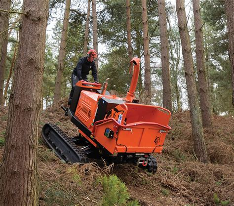 """TW 280TVGTR 8"""" Variable Tracked Wood Chipper   Timberwolf"""