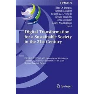 Digital Transformation for a Sustainable Society in the