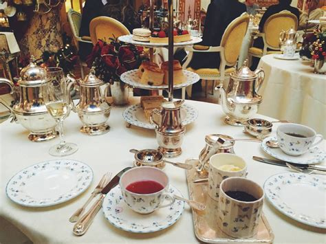 Afternoon Tea at The Ritz London - Small Towns & City Lights