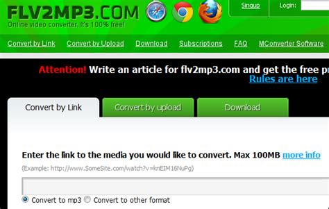Download and Convert YouTube to MP3 with ListentoYouTube