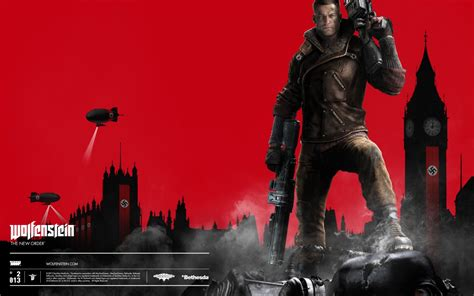 Wolfenstein The New Order Video Game Wallpapers | HD
