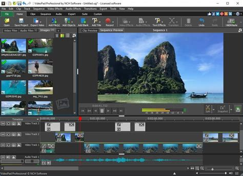 VideoPad Masters Edition - Free download and software
