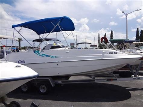 Used 1999 Cobia 206 COASTAL DECK Power Boats Outboard in
