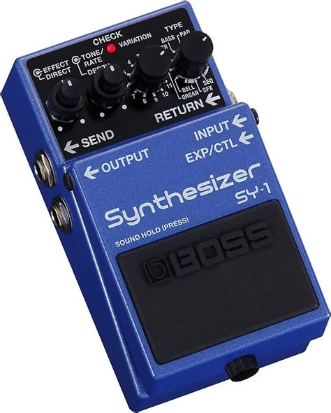 BOSS SY-1 Synthesizer Pedal   Northeast Music Center Inc