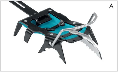 Technical crampon for mountaineering Hyper-Spike Climbing