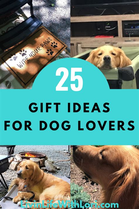 Perfect Gift Ideas For Dog Lovers | Livin' Life With Lori