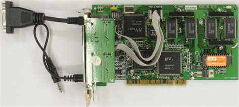 Released in 1995, the Diamond Edge 3D was Nvidia's first