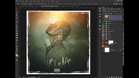 Photoshop CC Tutorial How to Make a Mixtape Cover THE