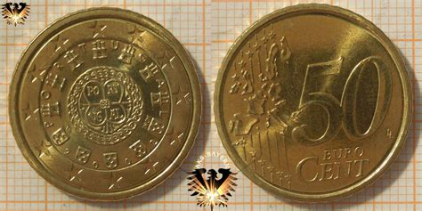 50 Euro-Cent, Portugal, 2002, nominal