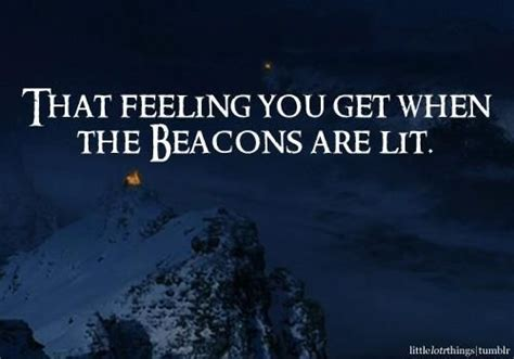 THE BEACONS ARE LIT! Gondor calls for aid