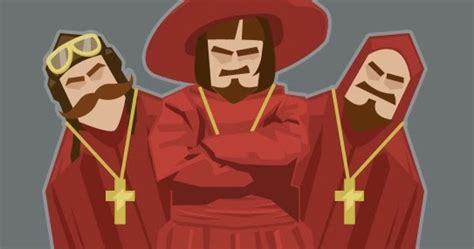 Man in Alora: Nobody Expects the Spanish Inquisition