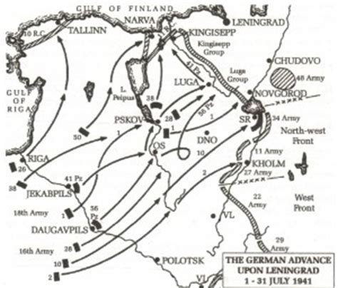 The Northern Sector   Operation Barbarrosa