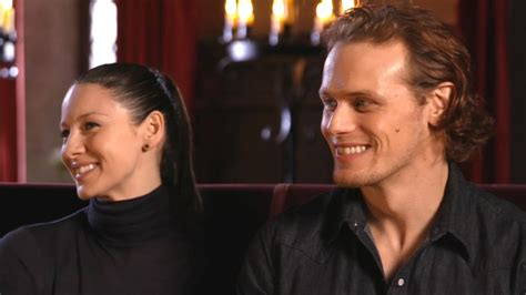 EXCLUSIVE: Sam Heughan and Caitriona Balfe Answer
