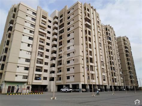 Pair West Open Brand New Flat For Sale In Saima Jinnah