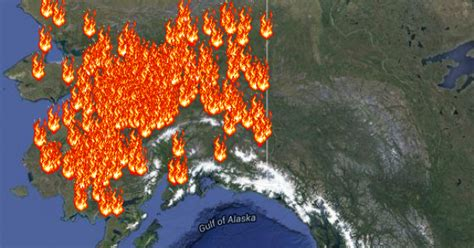 Interactive Wildfires Map Tracks the Blazes in the U