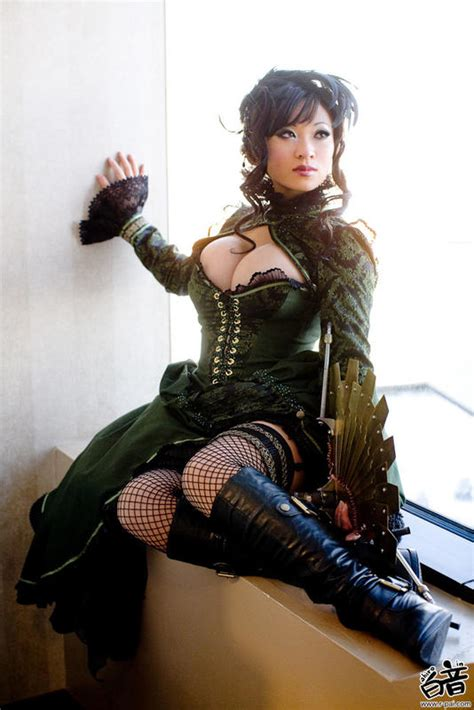 10 Of The Steamiest Asian SteamPunk Cosplay Pics | Amped Asia