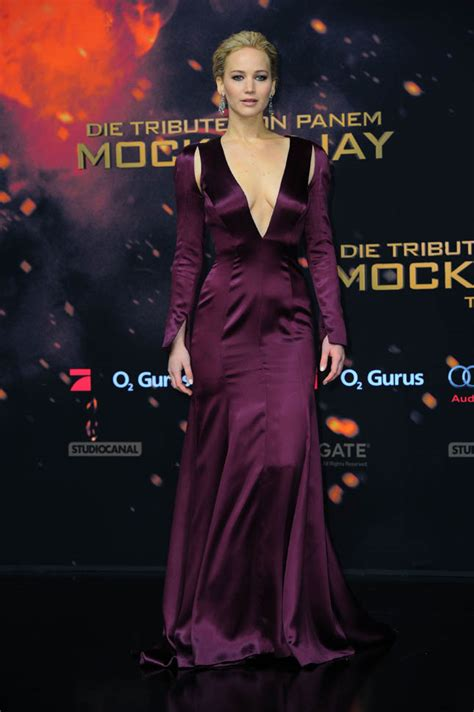 Jennifer Lawrence at the Mockingjay Part 2 premiere and