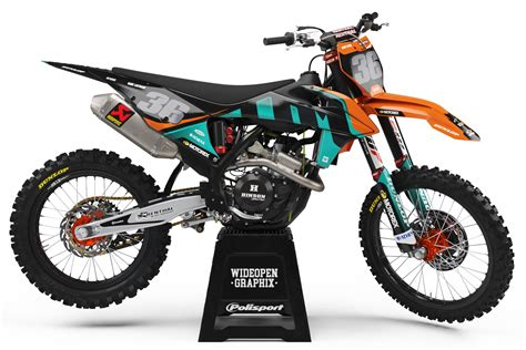 KTM Fusion Teal - Wideopengraphix
