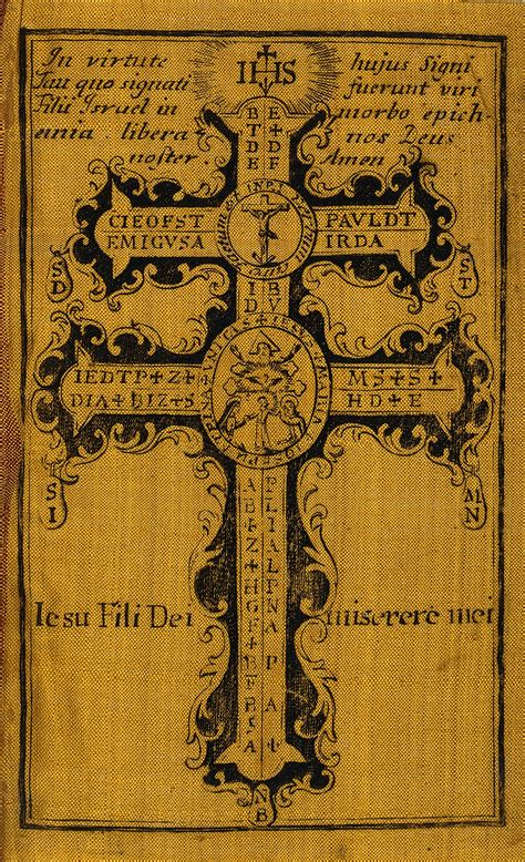 The Holy Cross, serving as an amulet against plagues