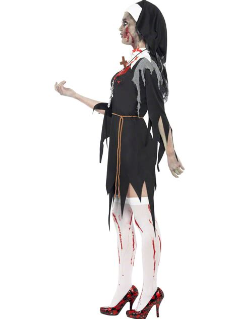Adult Zombie Bloody Mary Costume - 38877 - Fancy Dress Ball