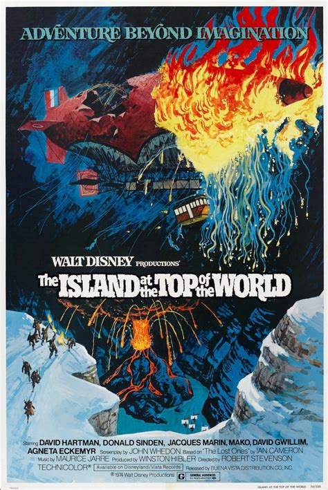 The Island at the Top of the World – Disney Movies List