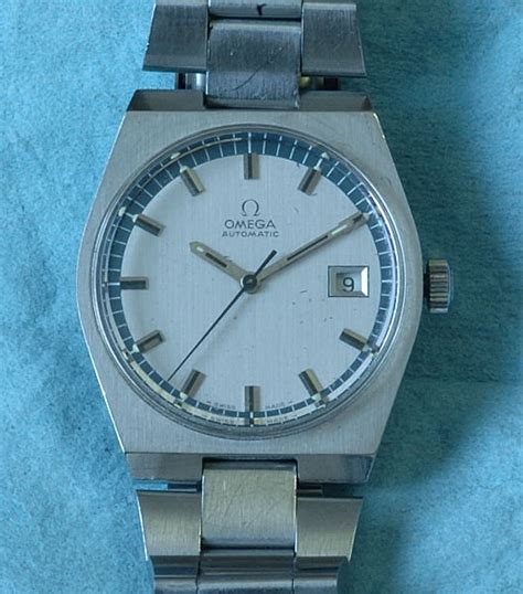 #5478 Omega all steel automatic with date late 70's – A