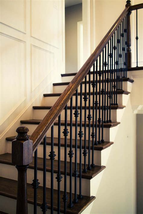 Straight Stairs Design & Construction | Artistic Stairs