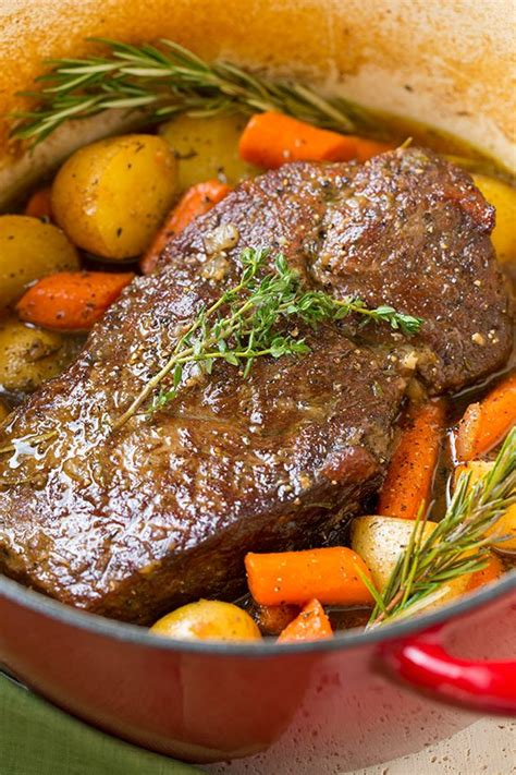 Pot Roast with Potatoes and Carrots - Cooking Classy