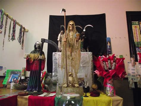 How to Build and Use a Permanent Santa Muerte Altar