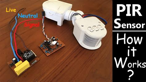 PIR Motion Sensor - How to connect? How it Works? - YouTube