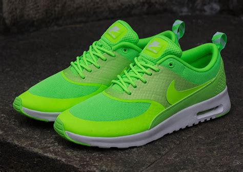 Nike WMNS Air Max Thea Flash Lime | Sneakers Madame