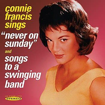 """Connie Francis sings """"Never On Sunday"""" & """"Songs to a"""