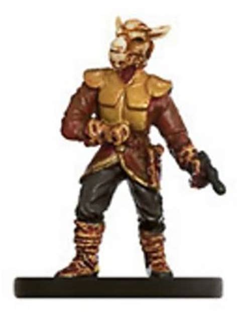 Bothan Noble #11 Legacy of the Force Star Wars Miniatures