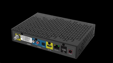 New cable set-top box for non HDMI compatible TVs