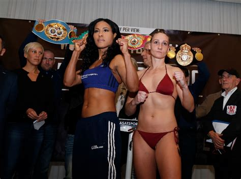 Cecilia Braekhus-Jennifer Retzke weigh-in results & photos