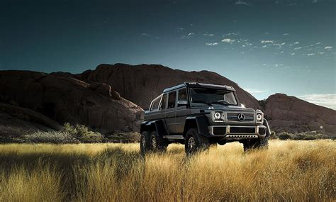 The Mercedes-Benz G 63 AMG 6x6: The declaration of