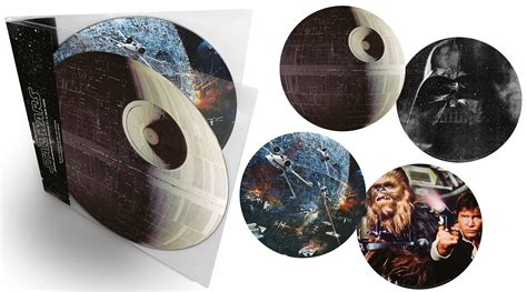 Original Star Wars: A New Hope Soundtrack On Picture Disc