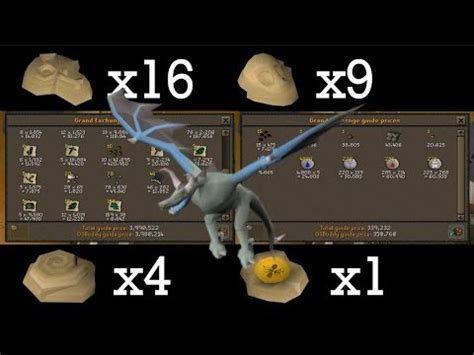 Loot from 500 Taloned Wyverns (fossil island) - OSRS - YouTube