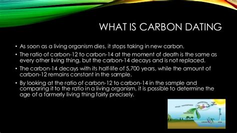 Group 3: Logarithms (carbon dating)