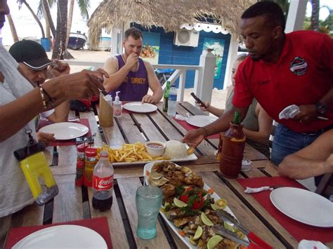 Catch 'n' Eat your catch at the restaurant on Bavaro Beach