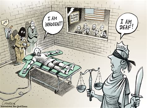 Death penalty in the USA   Chappatte