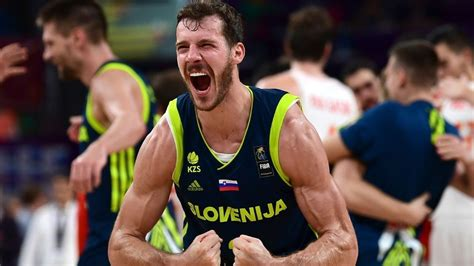 Goran Dragic, Slovenia rout Spain, to play for gold Sunday