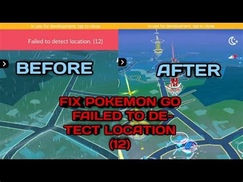 POKEMON GO FAILED TO DETECT LOCATION (12) FIXED CAUSE OF