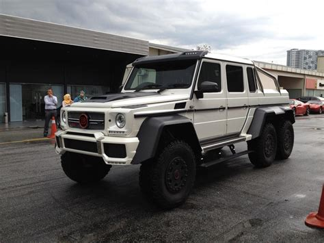 Brabus G700 6X6 Details and Pics: Now Available in