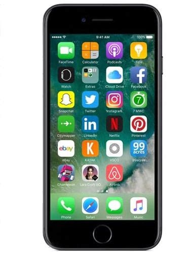 Apple Iphone 7 32gb Performance Reviews and Ratings Apple
