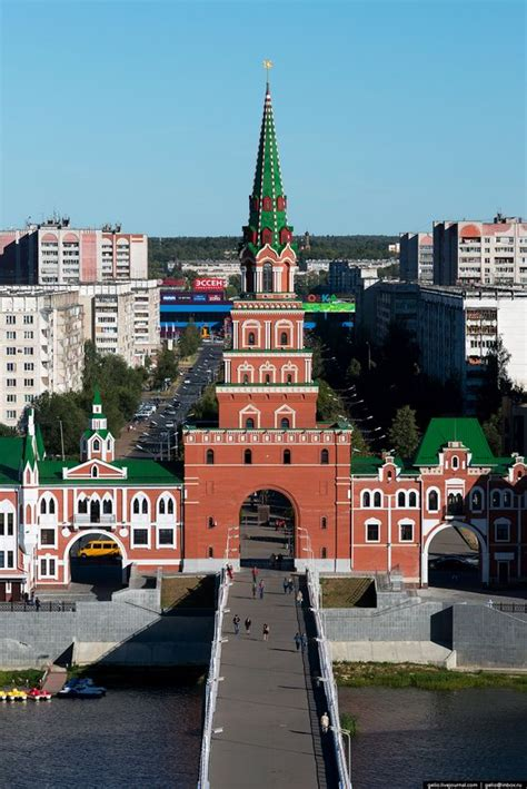 Yoshkar-Ola – the view from above · Russia Travel Blog