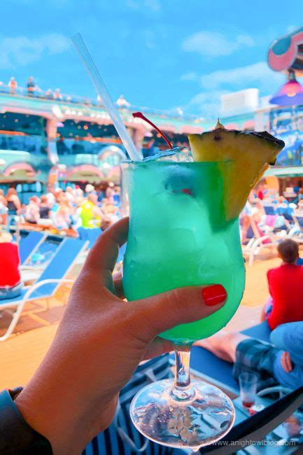 Best Drinks on Carnival Cruise Line - Drink of the Day | A