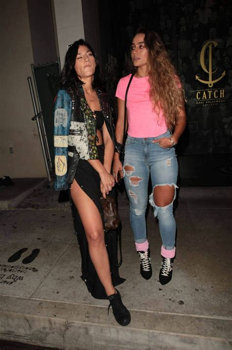 Lexy Panterra and Sommer Ray Stills at Catch LA in West