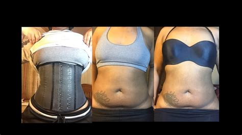 4 Day Waist Training | Before And After & Why I Stopped