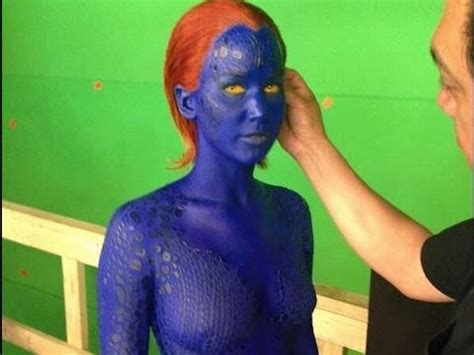 Jennifer Lawrence Naked in X-Men Days of Future Past